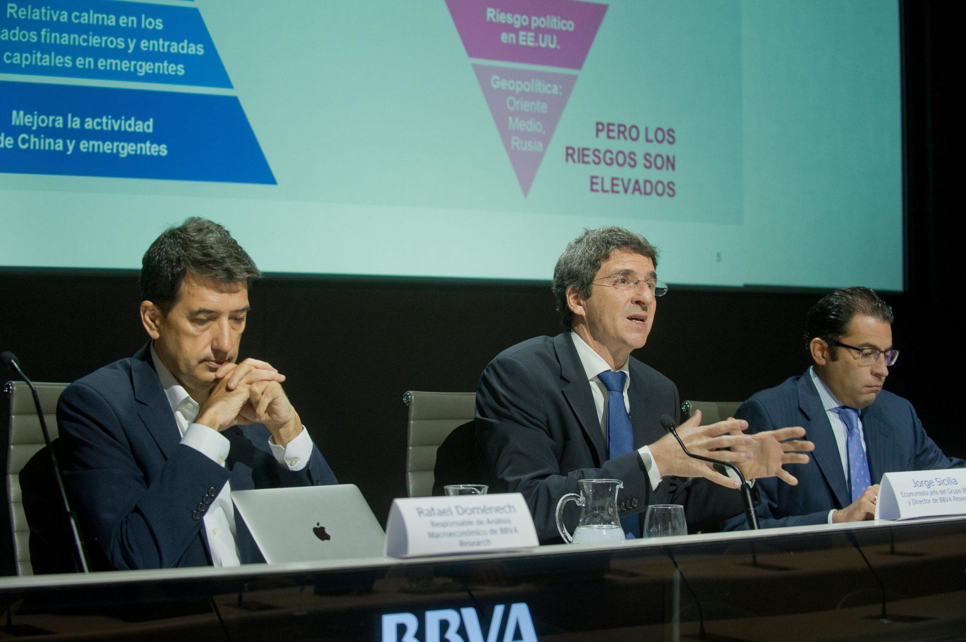 Rafael Doménech, Jorge Sicilia y Miguel Cardoso - Presentación Situación España 4T16, BBVA Research (2)