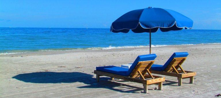 FOTOGRAFÍA DE Recurso, turismo, playa, España, arena, mar, vacaciones, viaje