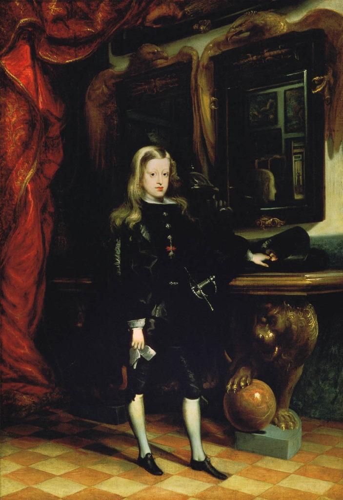 Fotografía de Carlos II de Colección BBVA