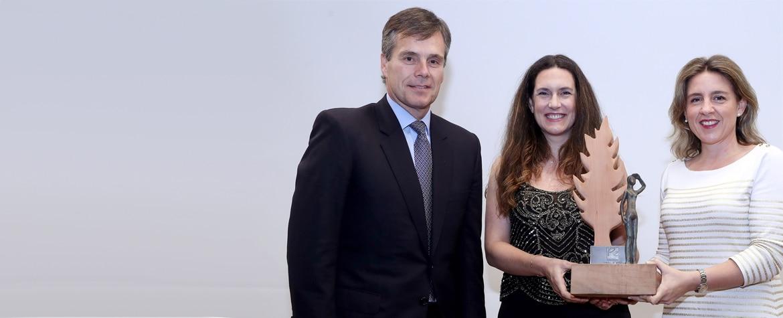 Foto Chile ganadora premio mujer empresaria 2016