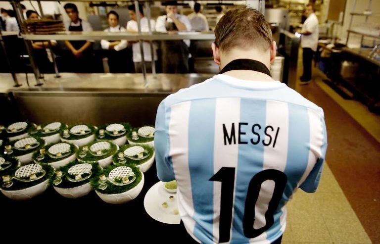 Gol de Messi de Jordi Roca