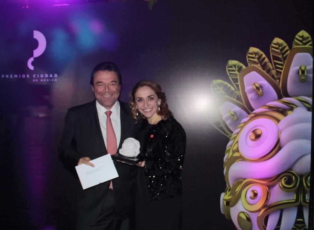 Jorge Terrazas y Bárbara Anderson