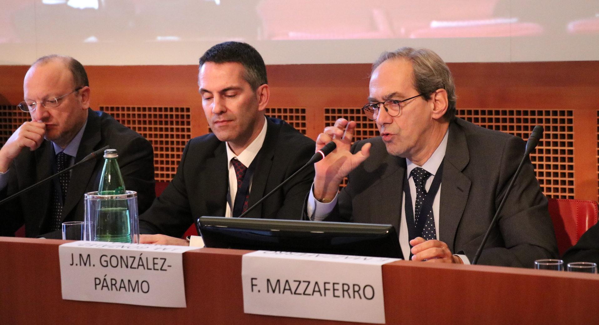 José Manuel González-Páramo, consejero ejecutivo de BBVA, en Rome Investment Forum