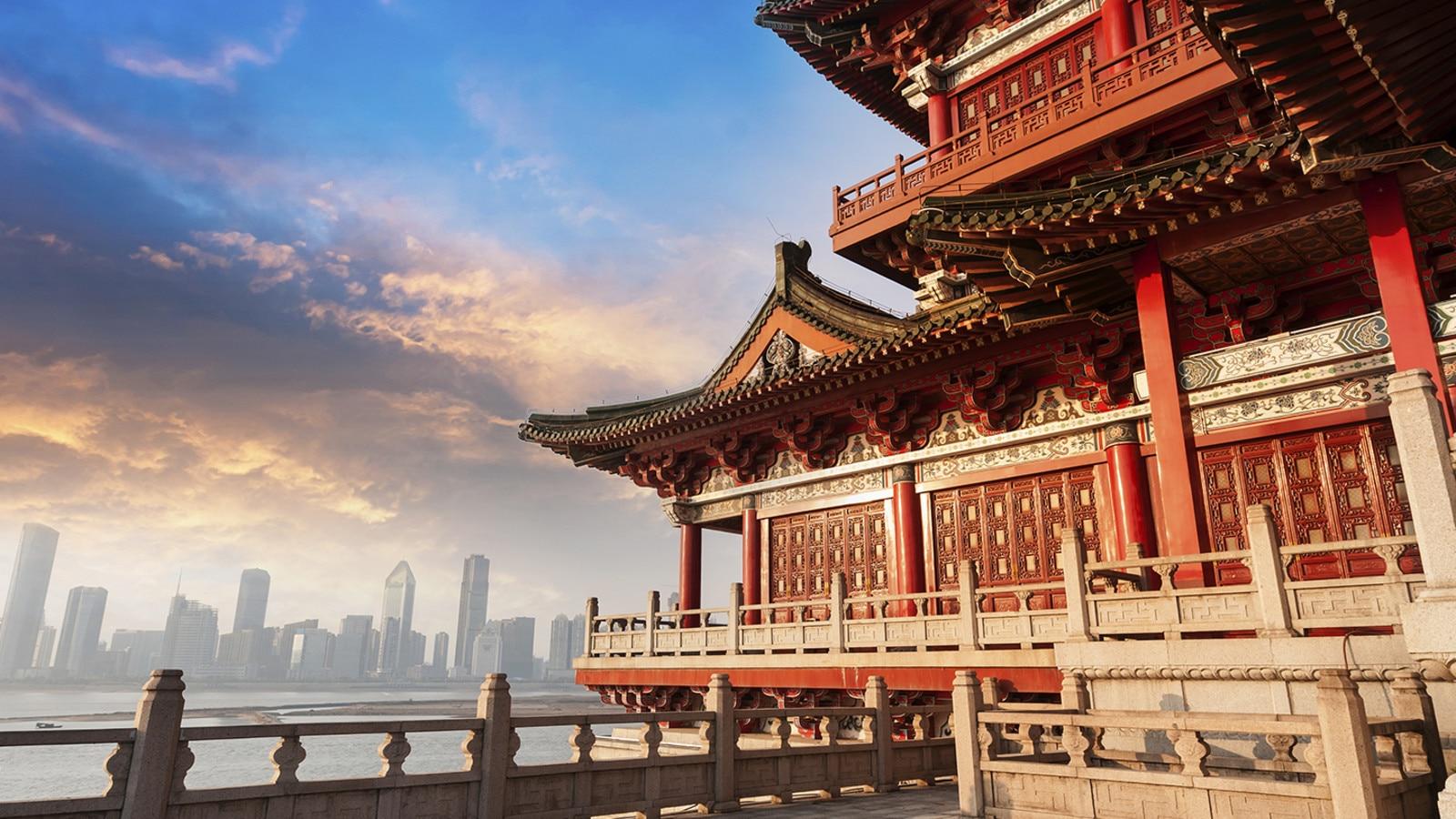 Fotografía de Palacio de la Ciudad Prohibida en Beijing, China.
