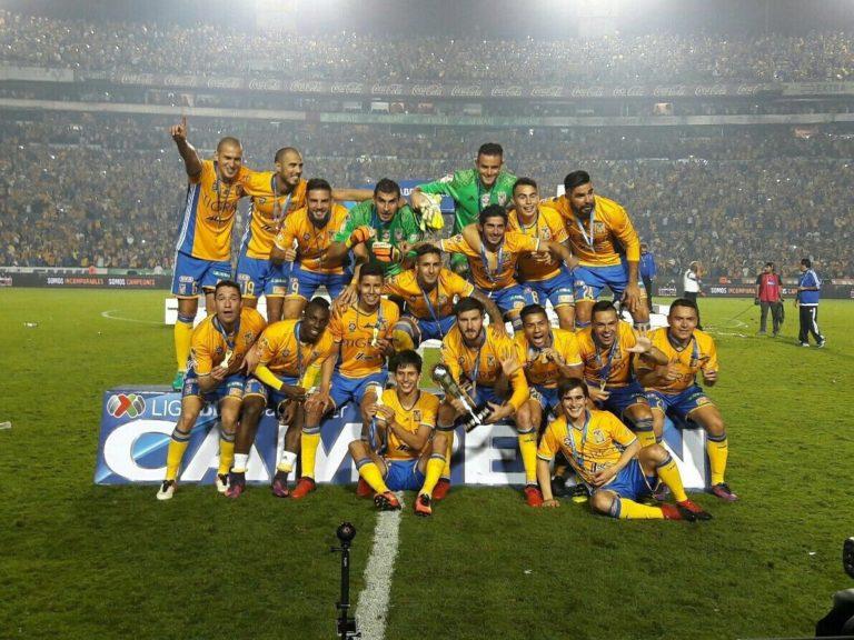 Tigres Campeón del Apertura 2016 de la Liga Bancomer