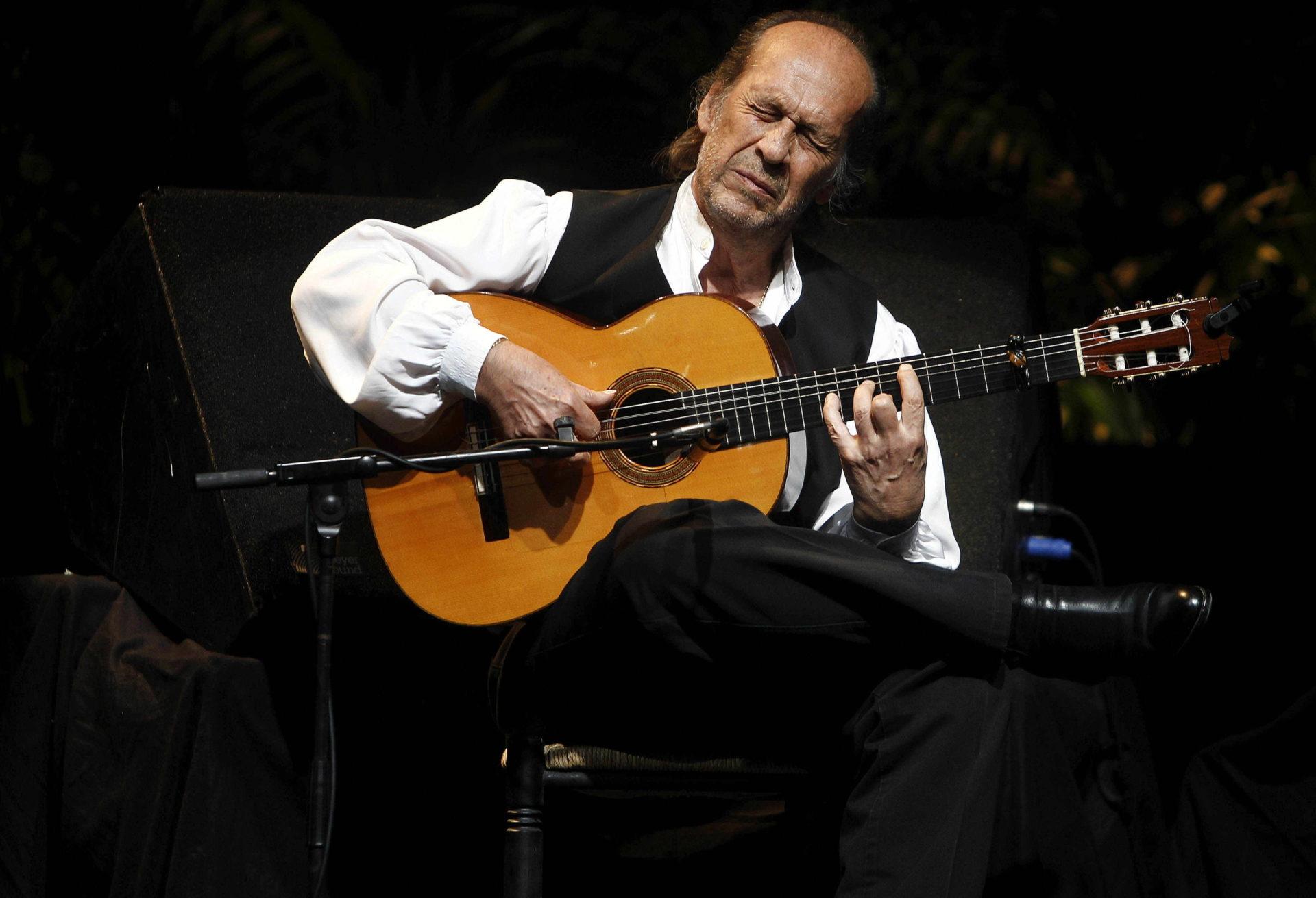 El guitarrista español, Paco de Lucía | Imagen: EFE