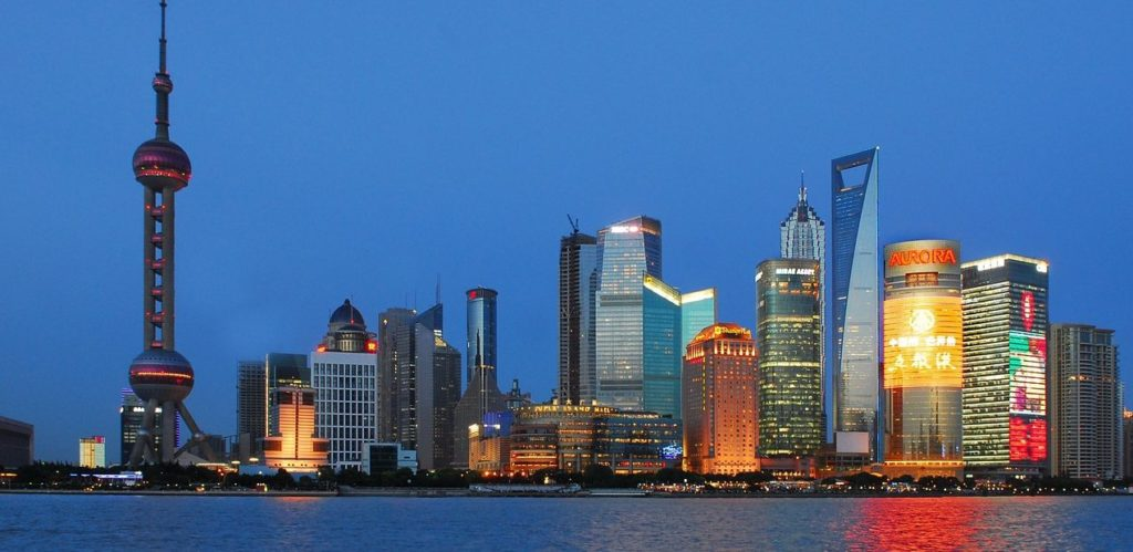 FOTOGRAFÍA DE Shanghai, China, Ciudad, Edificios, Recurso