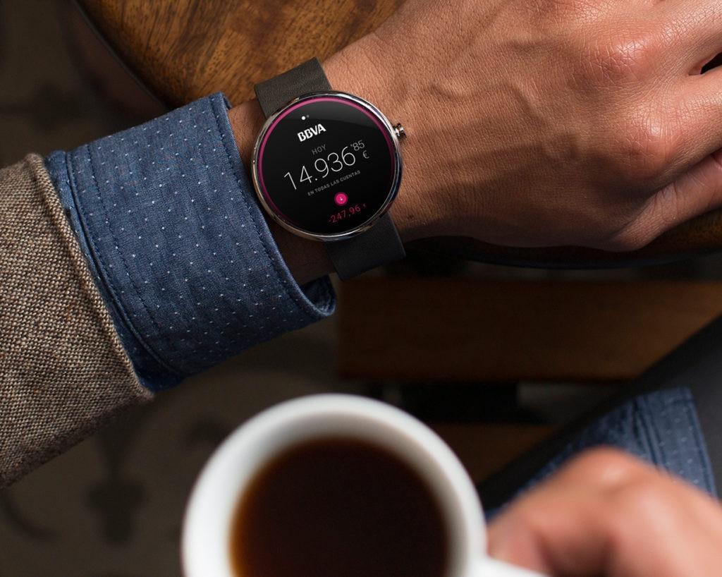 smartwatch bbva