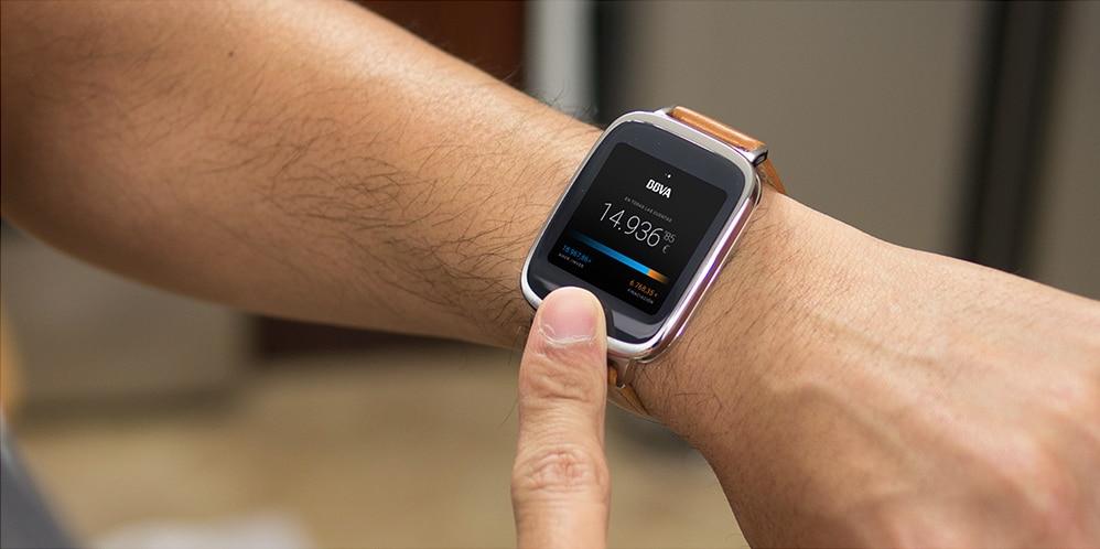 smartwatch bbva encabezado