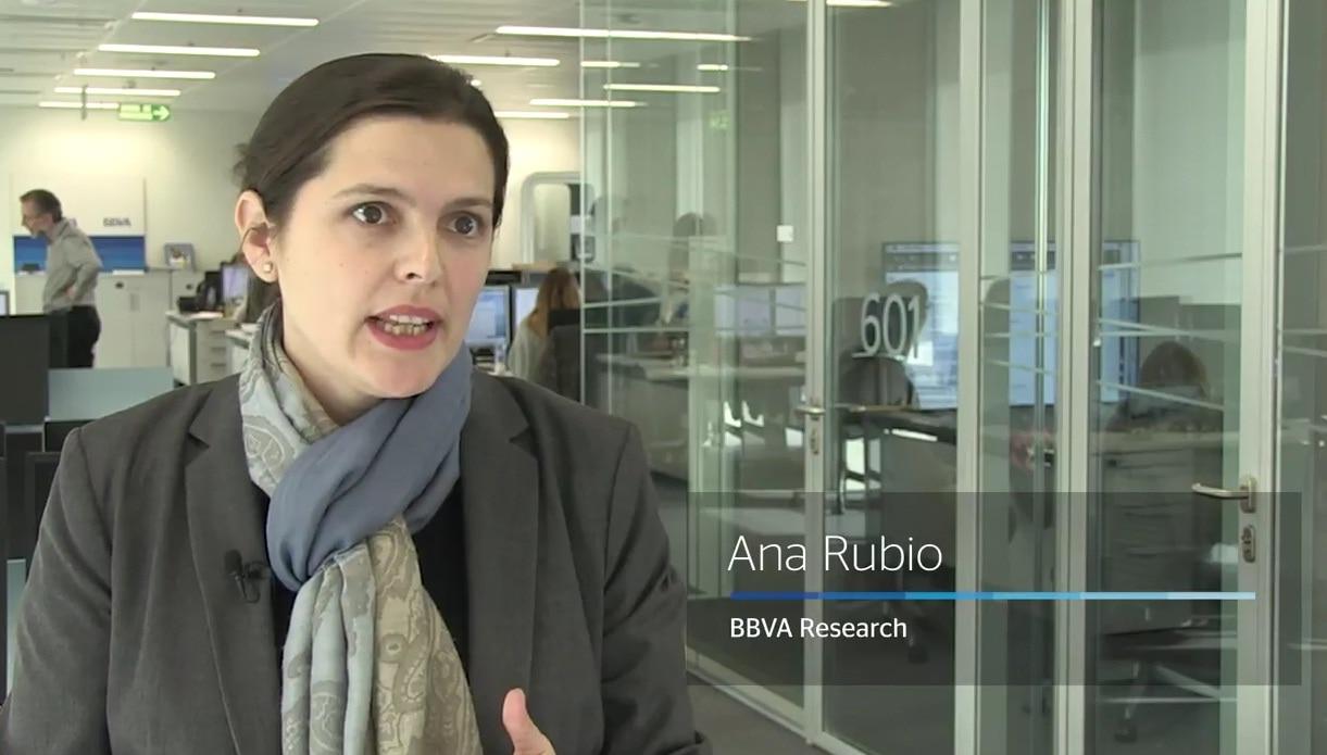FOTOGRAFÍA DE Ana Rubio, BBVA Research, economía, vídeo