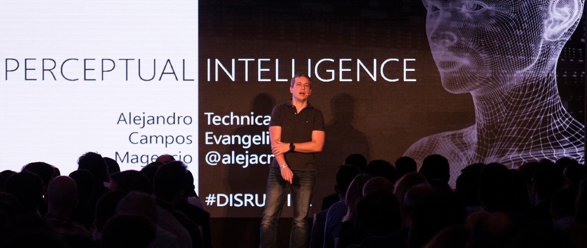 Disruptive2016 presentación inteligencia perceptual