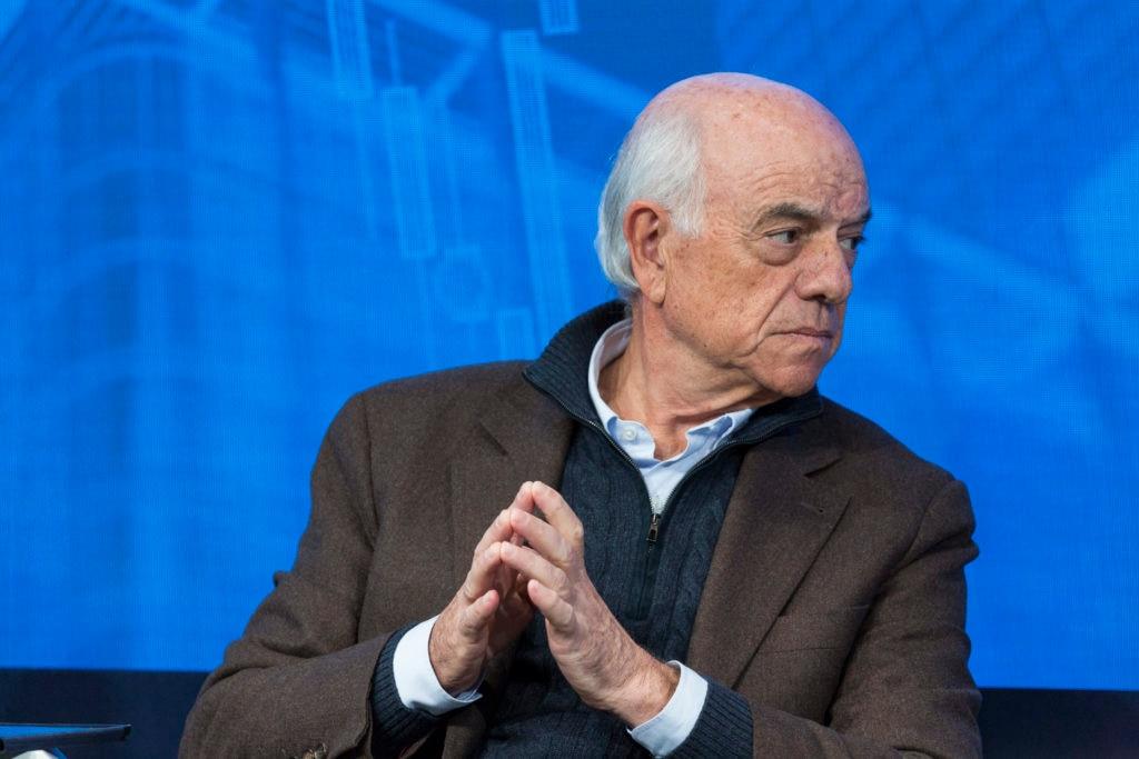 Imagen de El presidente de BBVA, Francisco González participa en un panel sobre 'fintech' en el World Economic Forum de Davos, Suiza, el 19 de enero de 2017