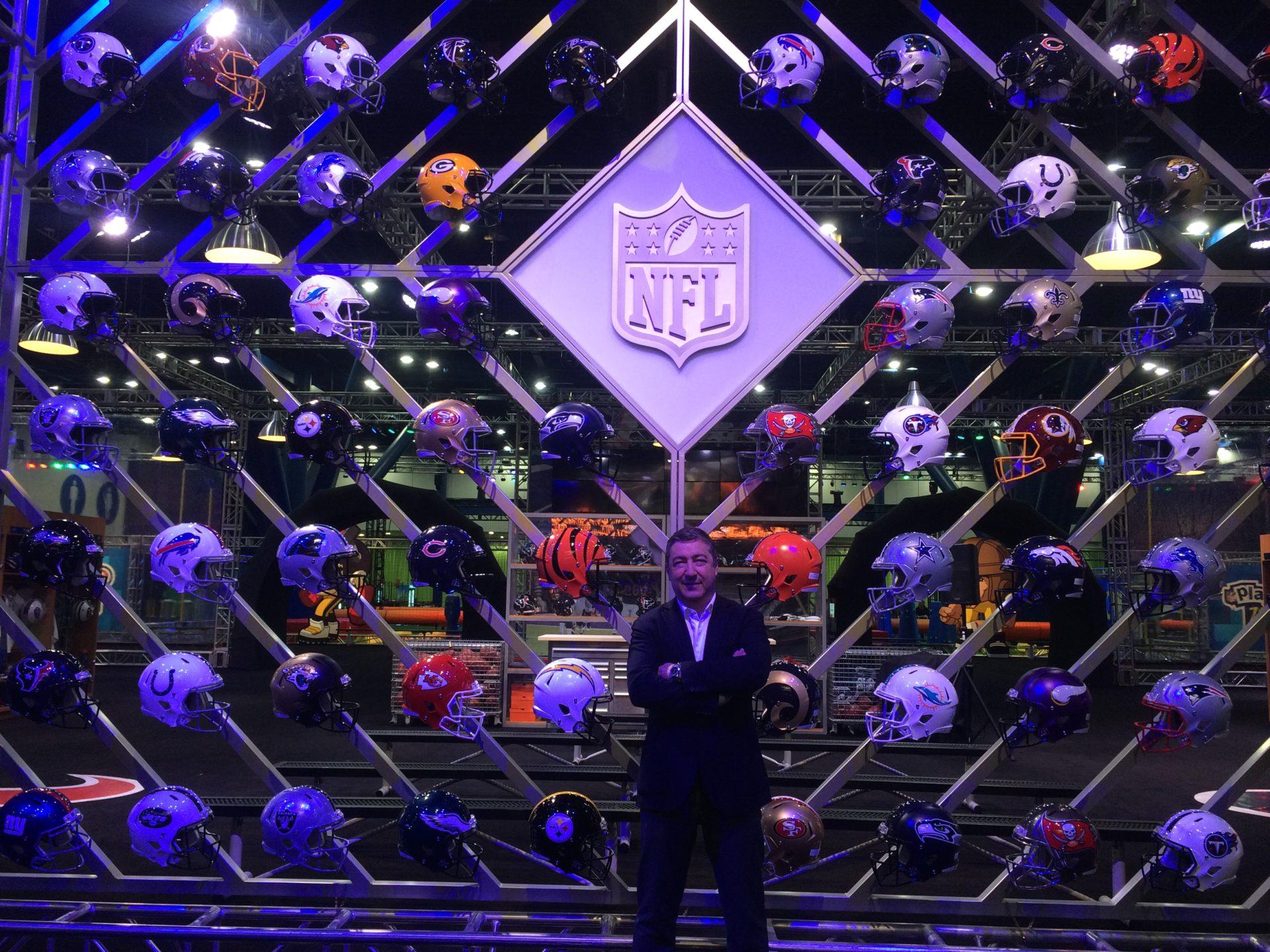 Joan Roca participa en la NFL Experience 3