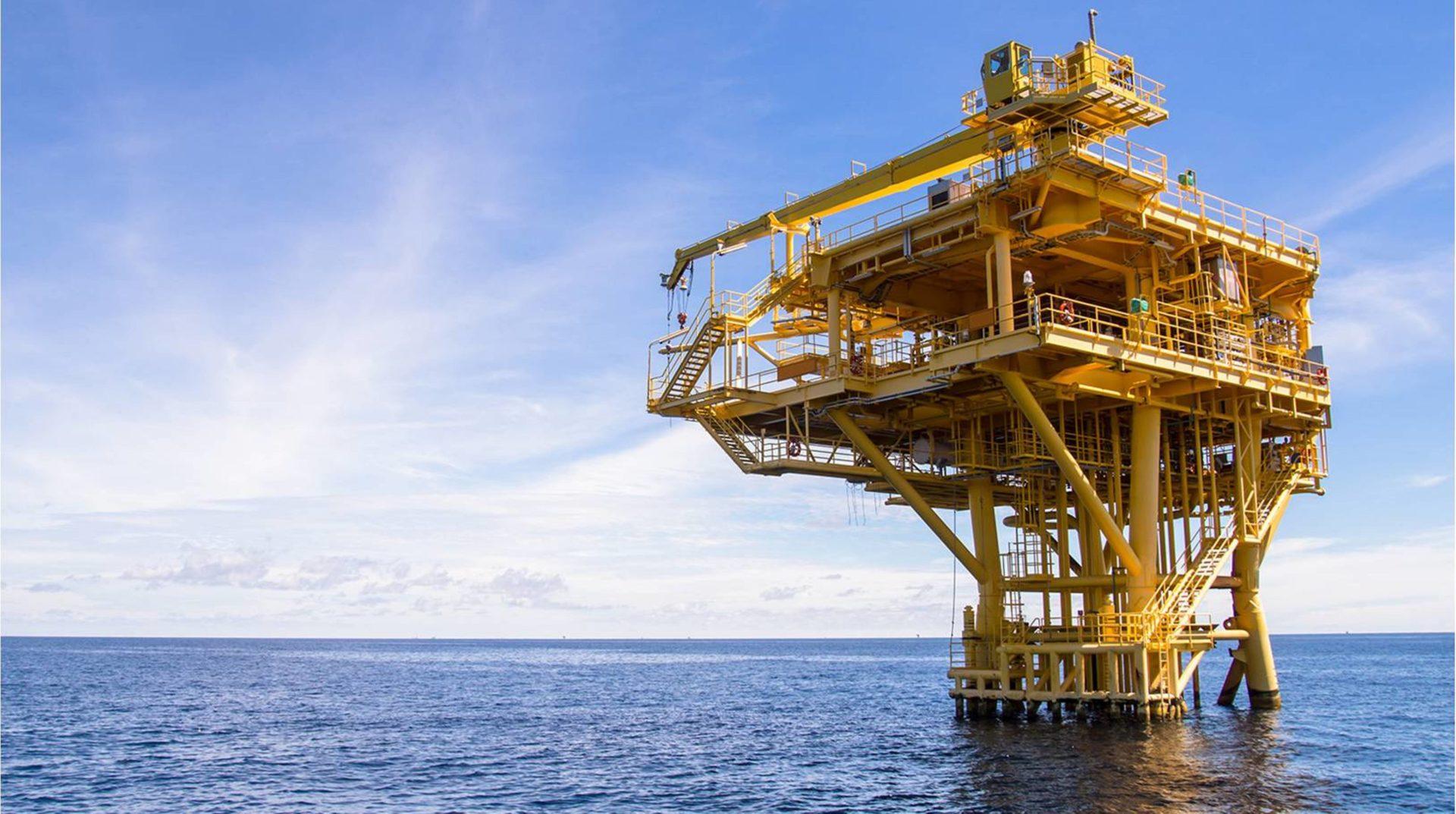 Plataforma para extracción de petróleo en México