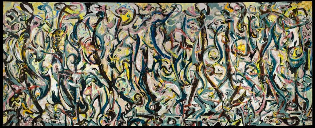 Pollock_Mural 1943_© The Pollock-Krasner Foundation, VEGAP, Bilbao, 2016