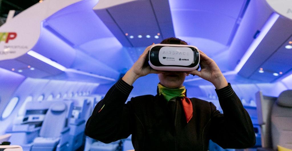 fotografia de fitur 2017 tecnologia aplicaciones realidad virtual bbva