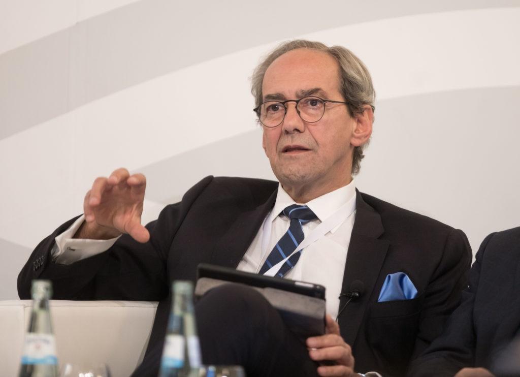 José Manuel González-Páramo, consejero ejecutivo de BBVA, en el G20
