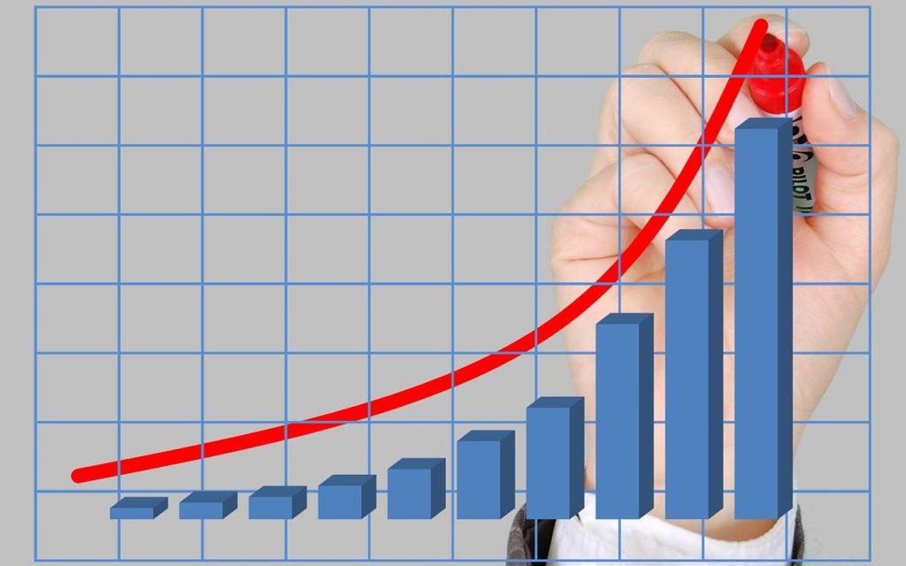 inversion crecimiento grafico economia finanzas recurso