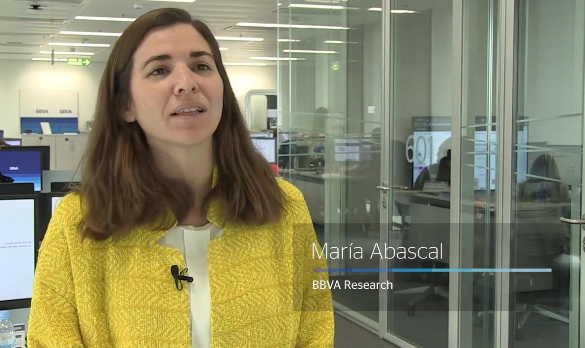 FOTOGRAFÍA DE maria abascal, BBVA Research, economía, video