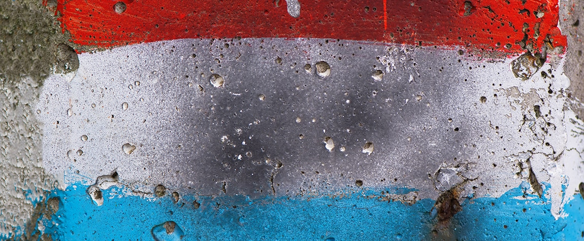 Fotografia de paraguay bandera pared recurso bbva