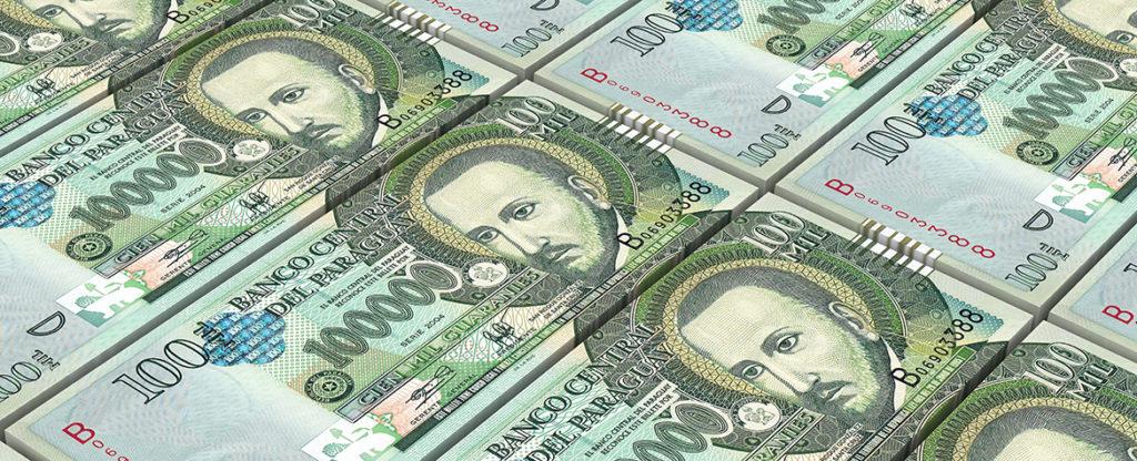 Fotografia de paraguay guaranies moneda economia dinero billetes bbva