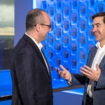 fotografia dBBVA_CEO Carlos Torres Vila y Onur Genç, entrevista en Estados Unidos