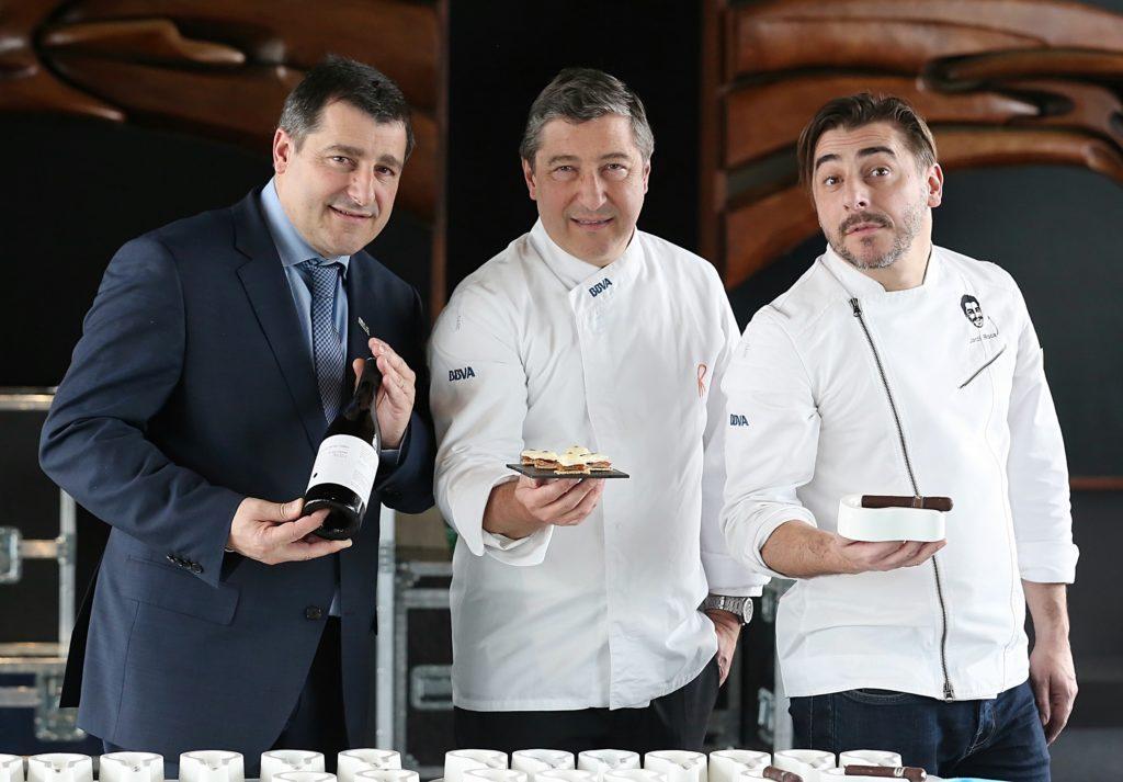 Josep, Joan y Jordi Roca presentan su gira por España junto a BBVA