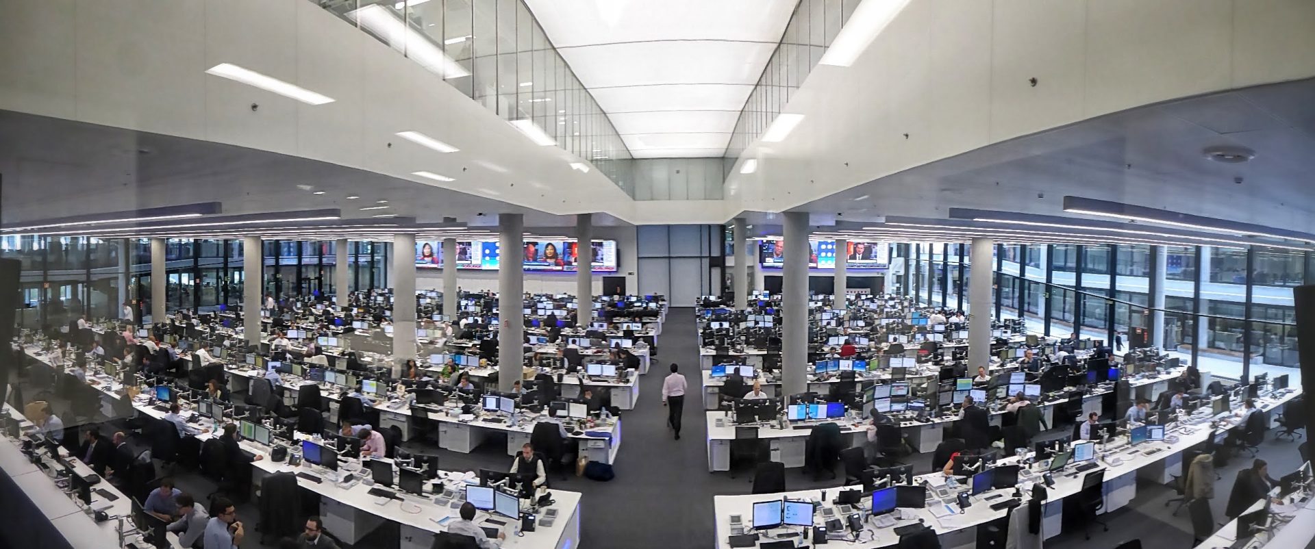 BBVA Trading floor