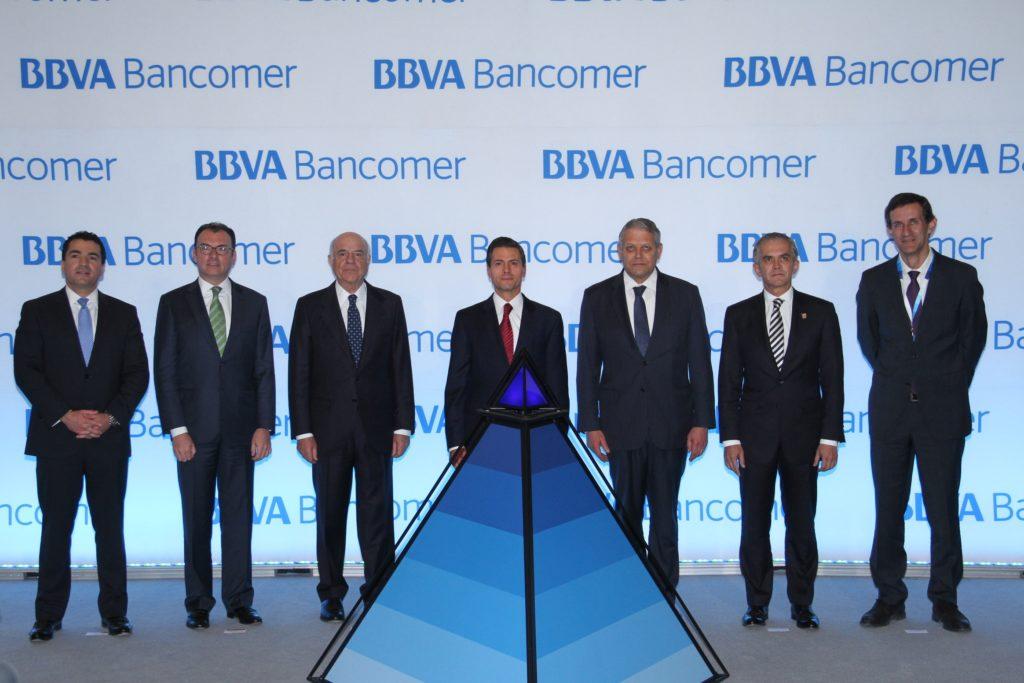 Inauguración Torre BBVA Bancomer