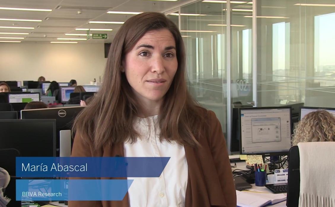 María Abascal, BBVA Research, economía, finanzas, geopolítica, regulación