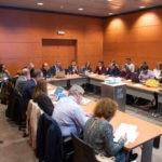 el responsable de Análisis Macroeconómico de BBVA, Rafael Doménech participa en un debate organizado por la APIE