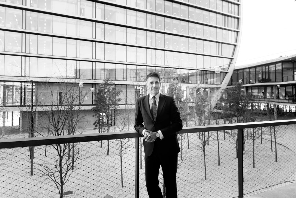 Fotografía de Luis Megías, director de BBVA Asset Management Europa