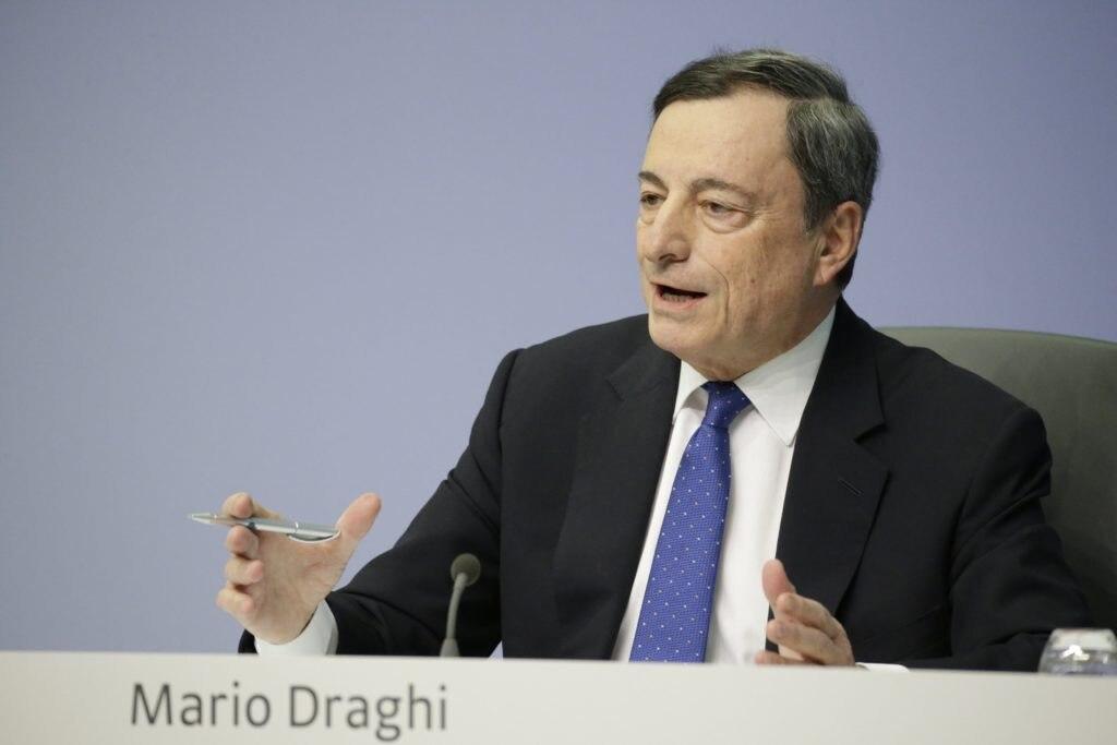 MArio Draghi - BCE - Banco Central Europeo