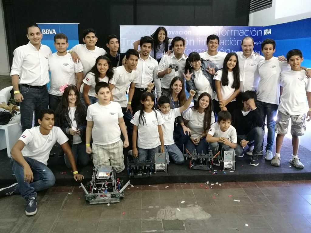 Laboratorio de Robótica BBVA Paraguay