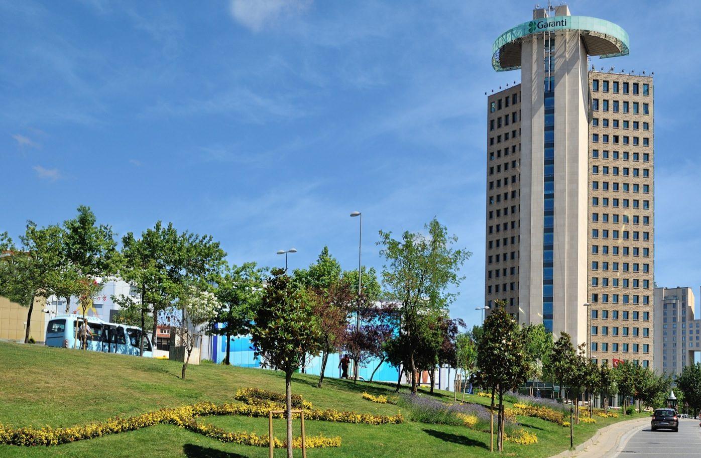 fotografia de garanti torre recurso edificio construccion bbva