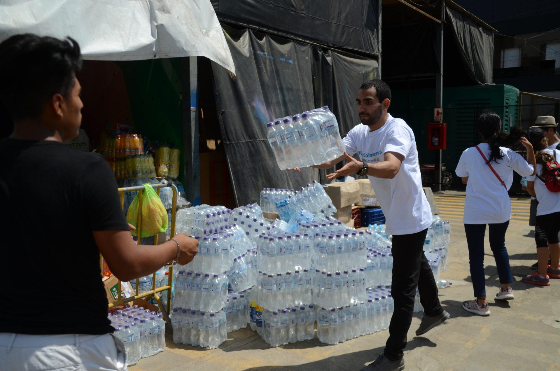 fotografia de inundaciones donaciones agua peru bbva