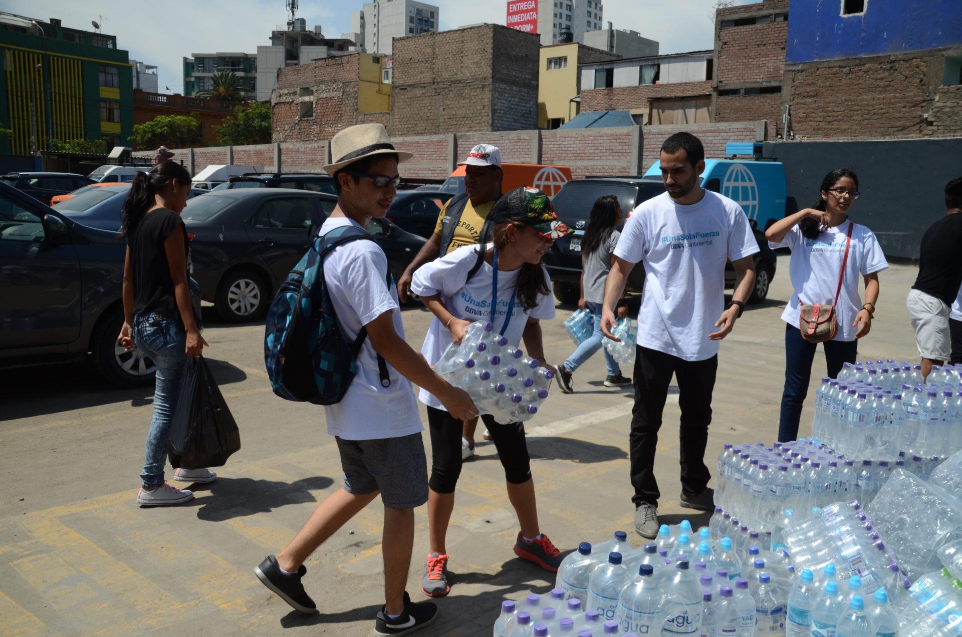fotografia de inundaciones donaciones ayuda peru bbva