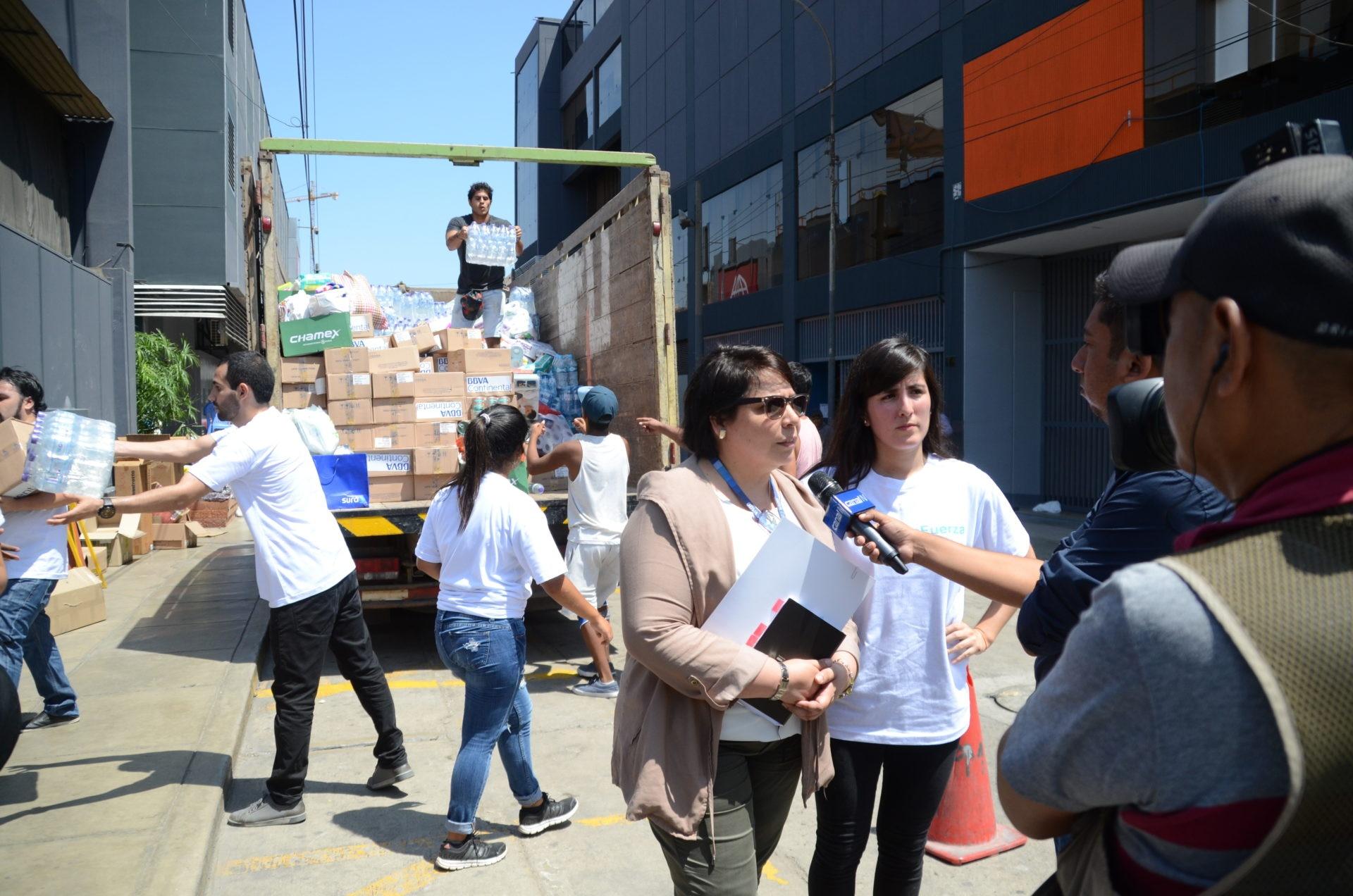 fotografia de inundaciones donaciones peru bbva