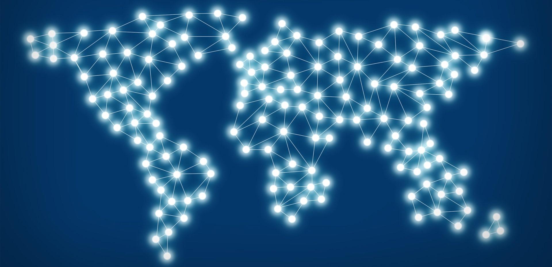 Mundo digital recurso fintech tecnologia países más conectados