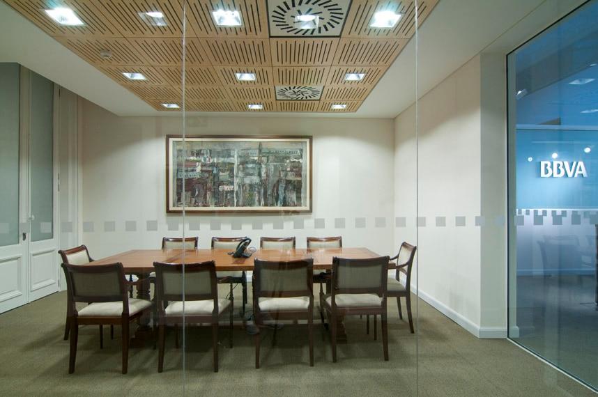 Reflejo de un siglo nuestra casa central bbva for Bbva oficina central