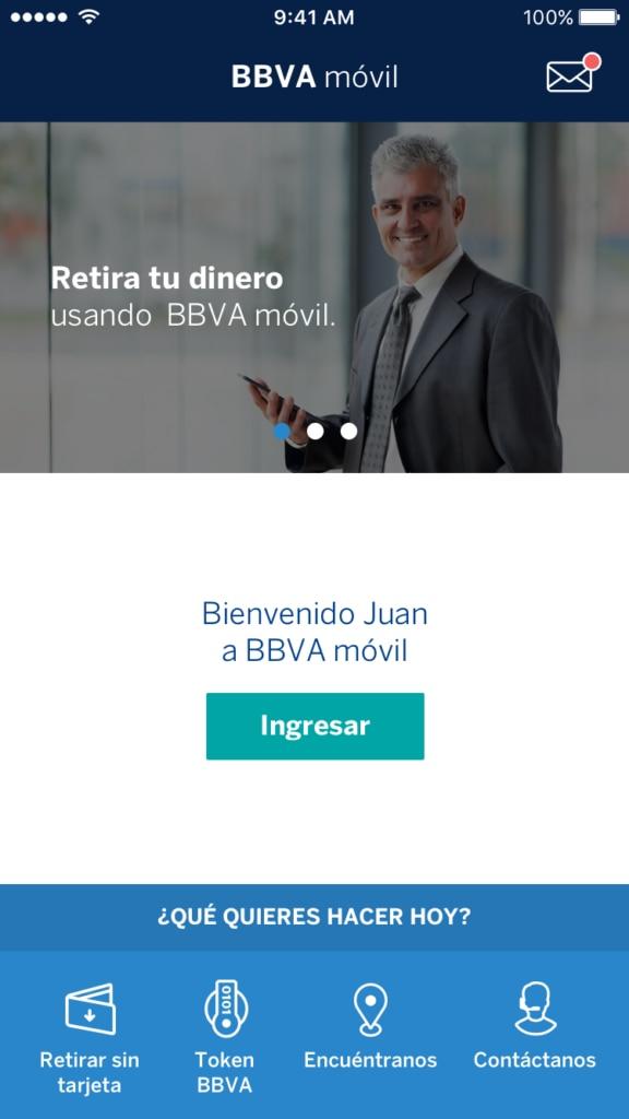 Fotografía BBVA movil Colombia