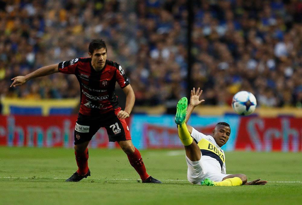 Boca empató con Patronato 1 a 1. BBVA