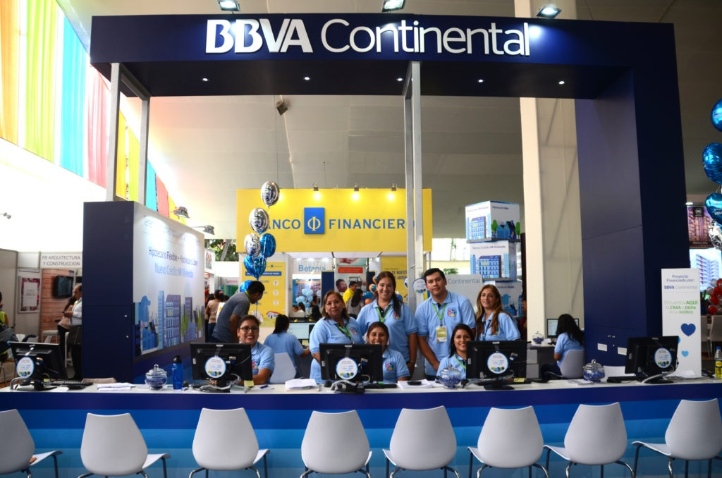 Bbva continental fue protagonista en la feria inmobiliaria for Inmobiliaria de bbva