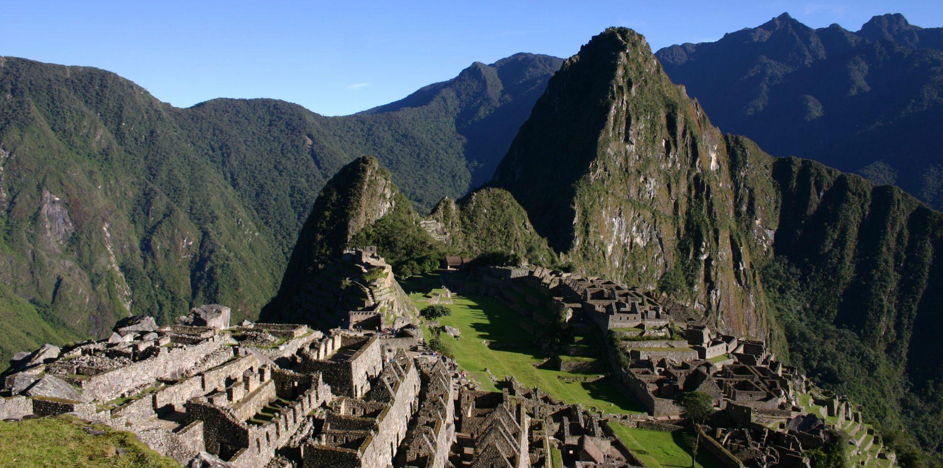Fotografía de Machu Picchu, destino turístico de miles de turistas nacionales e internacionales. BBVA Continental ofrece tips de seguridad para turistas.