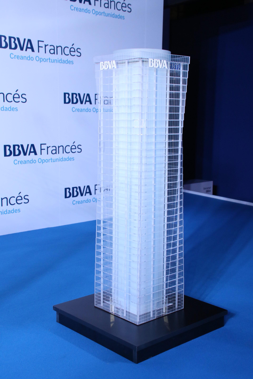 Fotografía Maqueta torre BBVA Francés