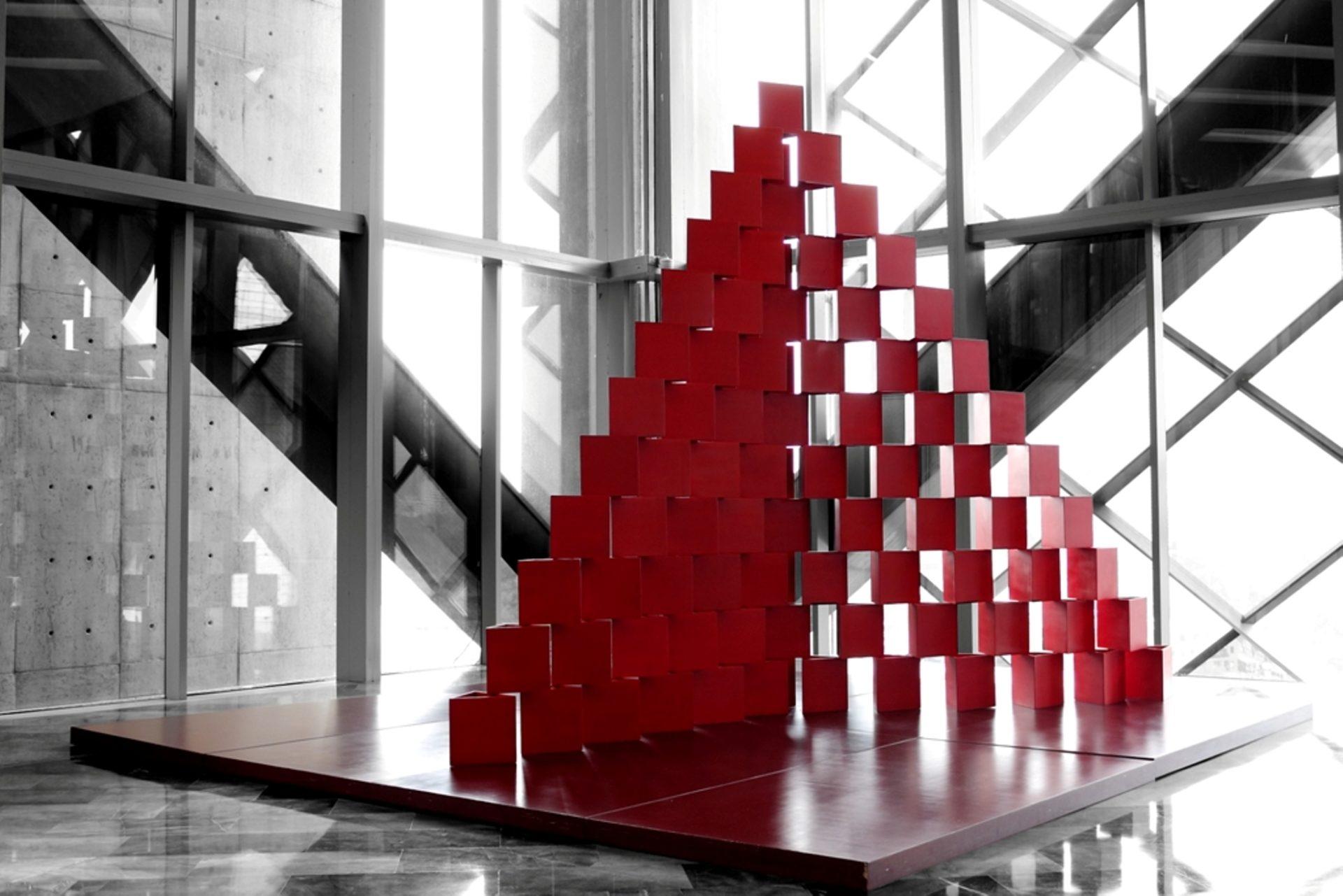 Pirámide Goeritz Colección BBVA Bancomer