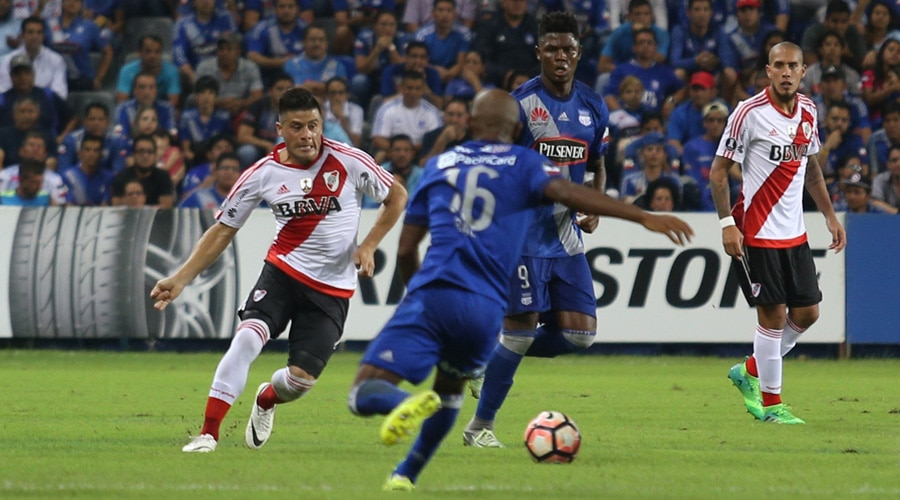 River 2 Emelec 1, Copa Libertadores 2017. BBVA