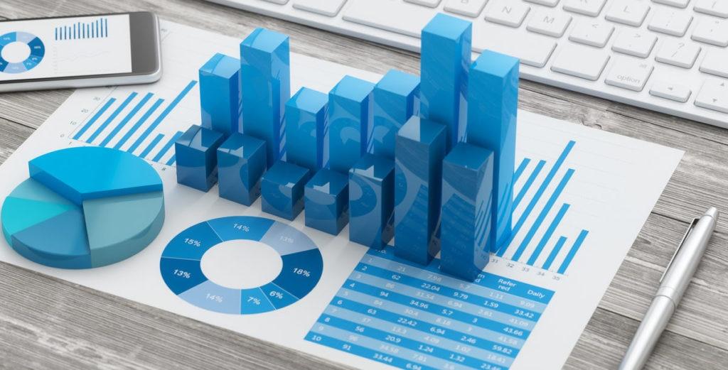 RECURSO tablet infografia teclado finanzas economia grafico financiero