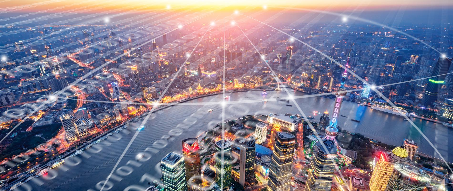 big data recurso ciudades digitales background fintech tech tecnologia