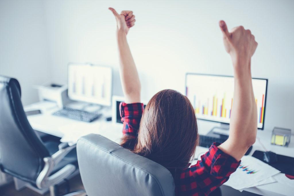 trabajo ordenadores recurso positivo felicidad ordenador
